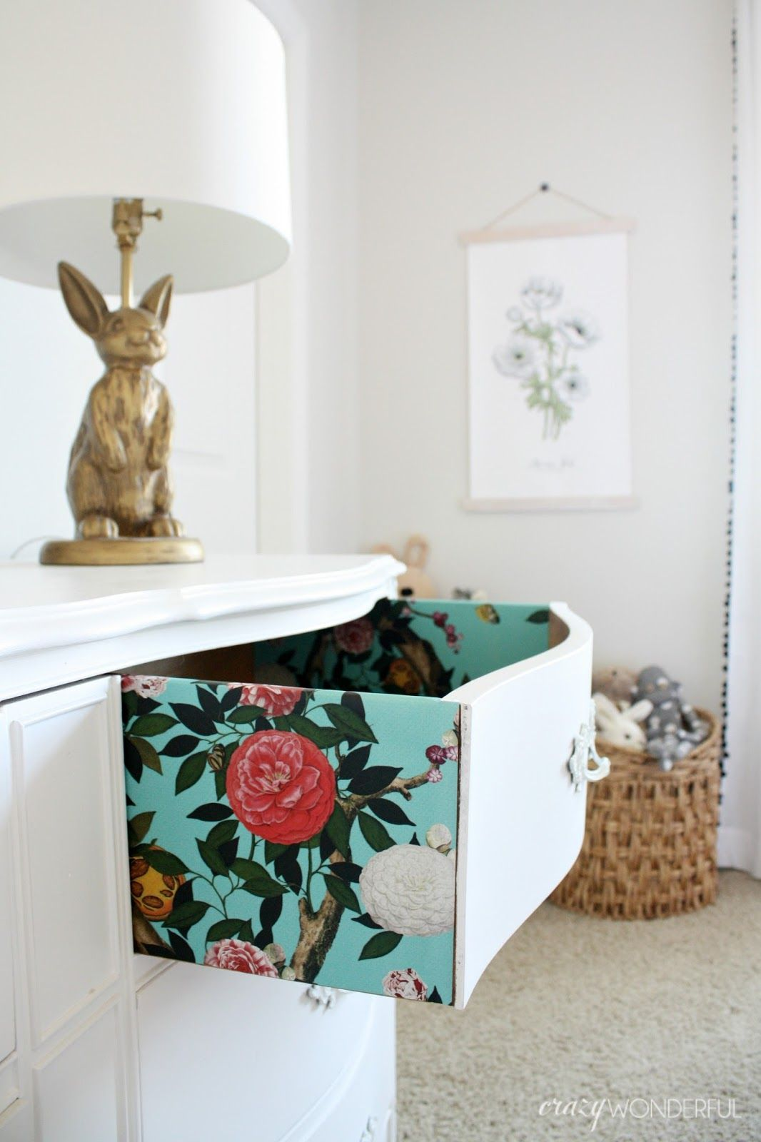 My Initial Shock Of Wallpaper S Return Was Laid Aside A Couple Of Years Ago When I Realized It S Not At All Wallpaper Dresser Dresser Drawers Wallpaper Drawers