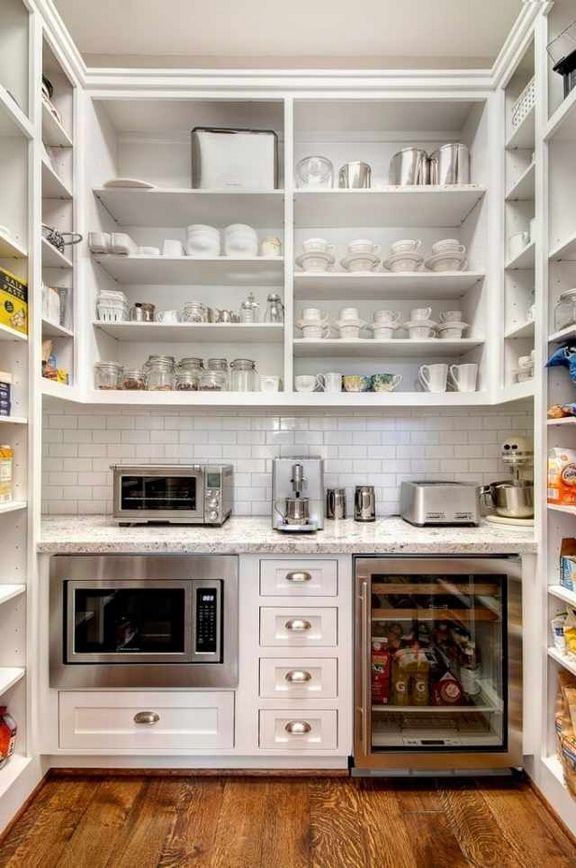 42 + Kids, Work And Storage Ideas For Small Spaces Kitchen Pantries 18 - freehomeideas.com #pantryshelving