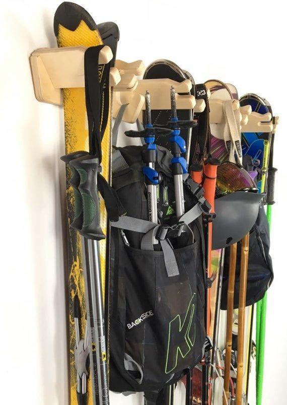Rack vertical de stockage de ski i 2020   Förvaring