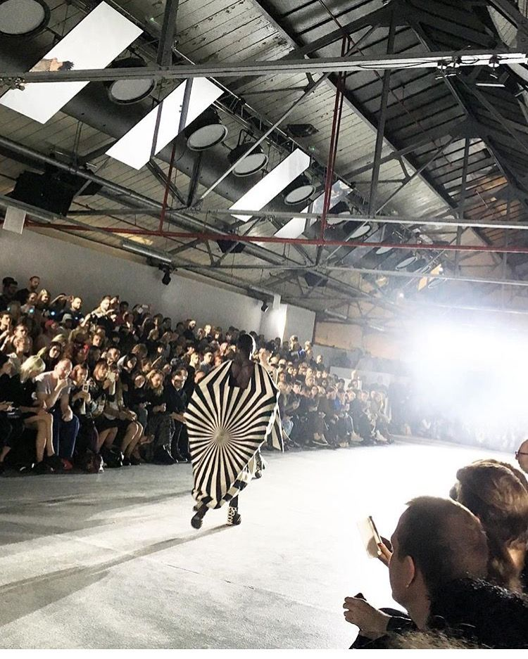 Gareth Pugh studio London fashion week