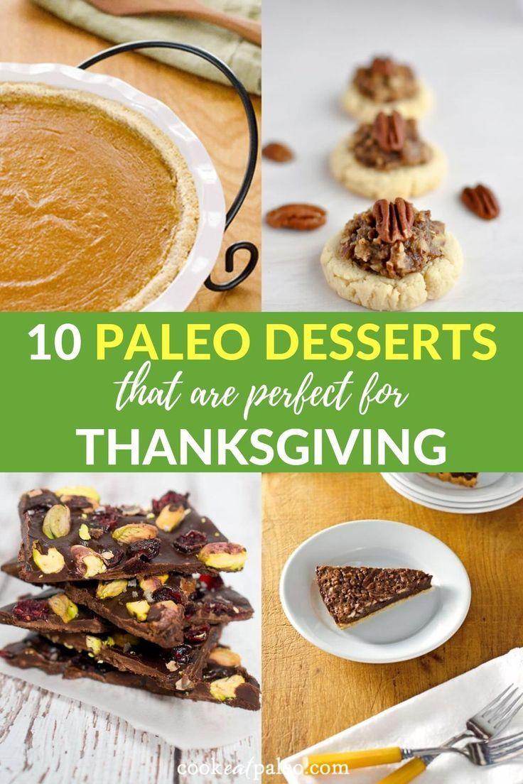10 Paleo Thanksgiving Desserts Everyone Will Love