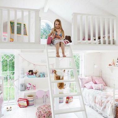10 totally adorable room ideas for girls house stuff pinterest kinderzimmer schlafzimmer. Black Bedroom Furniture Sets. Home Design Ideas