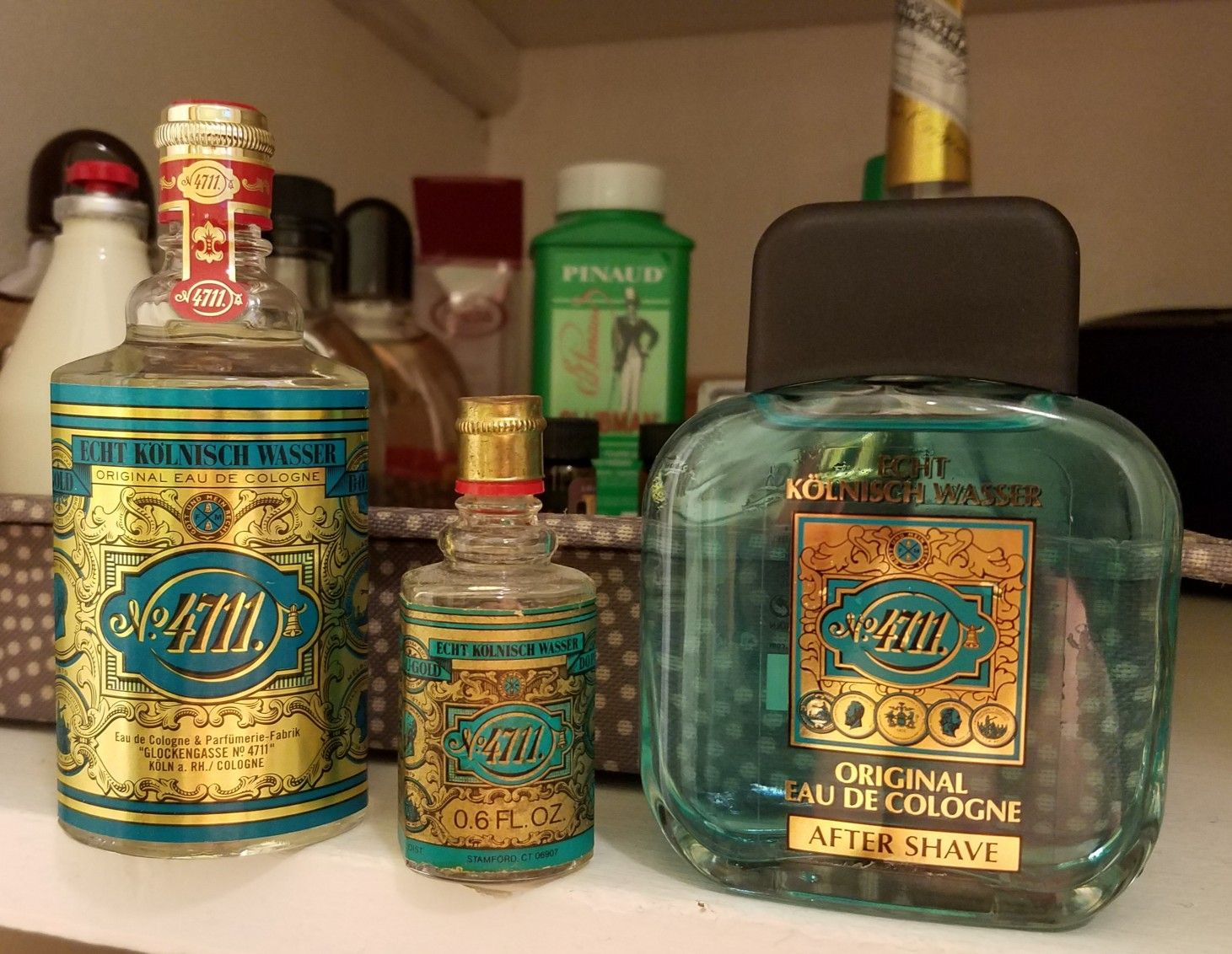 Whiskey Köln These Two Joined Their Little Brother 4711 Cologne And Aftershave