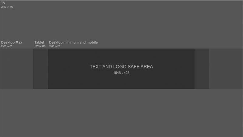 How To Make Youtube Channel Art In Photoshop New Layout баннер шаблон баннера шаблоны