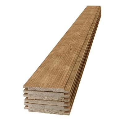 Ufp Edge 1 In X 8 In X 4 Ft Barn Wood Light Brown Shiplap Pine Board 6 Pack 326272 The Home Depot In 2020 Wood Light Barn Wood Shiplap