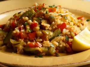 spanish style vegetable casserole