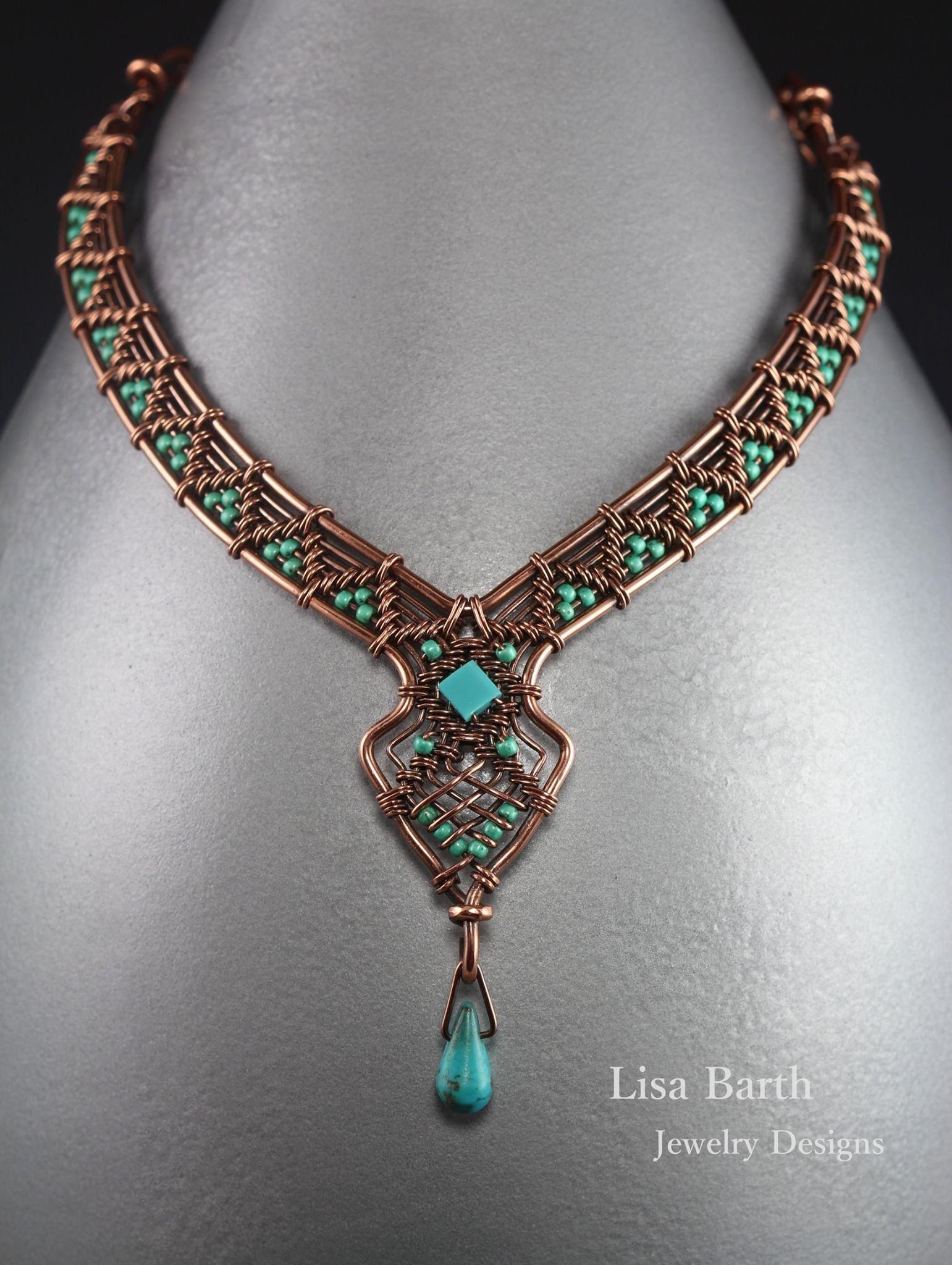 Pin von Karen OBrien auf Wire Jewelry | Pinterest | Schmuck, Basteln ...