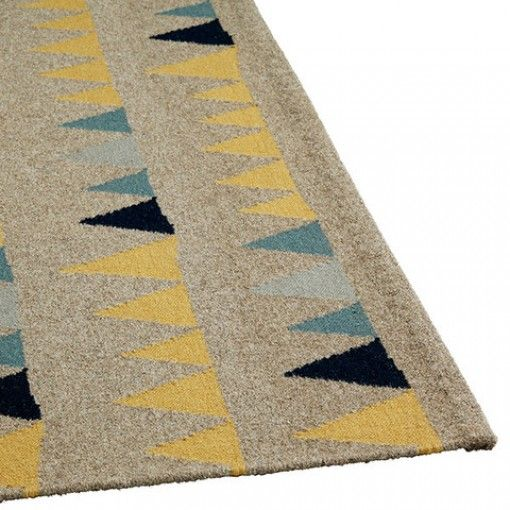 Great Kids Rugs - Bunting Rug (Thesecretroom.com.au)