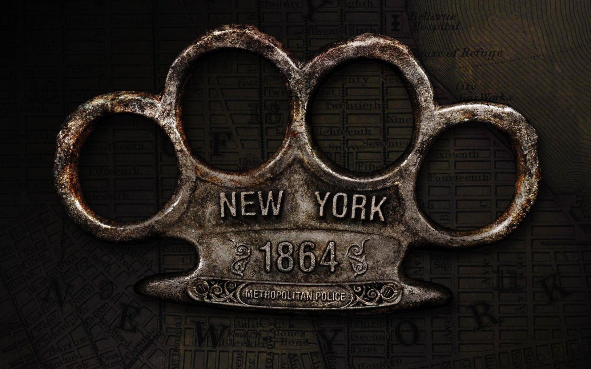 Desktop Wallpaper - police new york city metropolitan 1864 knuckle ...