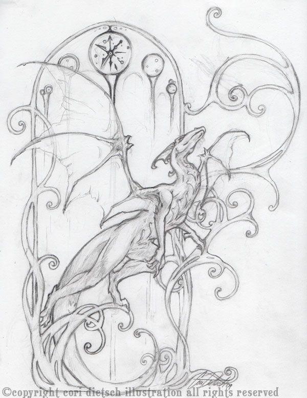 Dragon, Art Nouveau   Art   Pinterest   De todo, Inspiración y Pinturas
