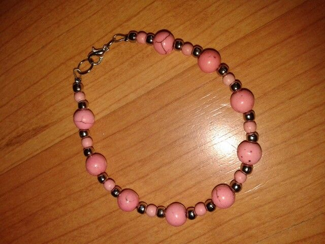 Hermosa pulsera rosa!