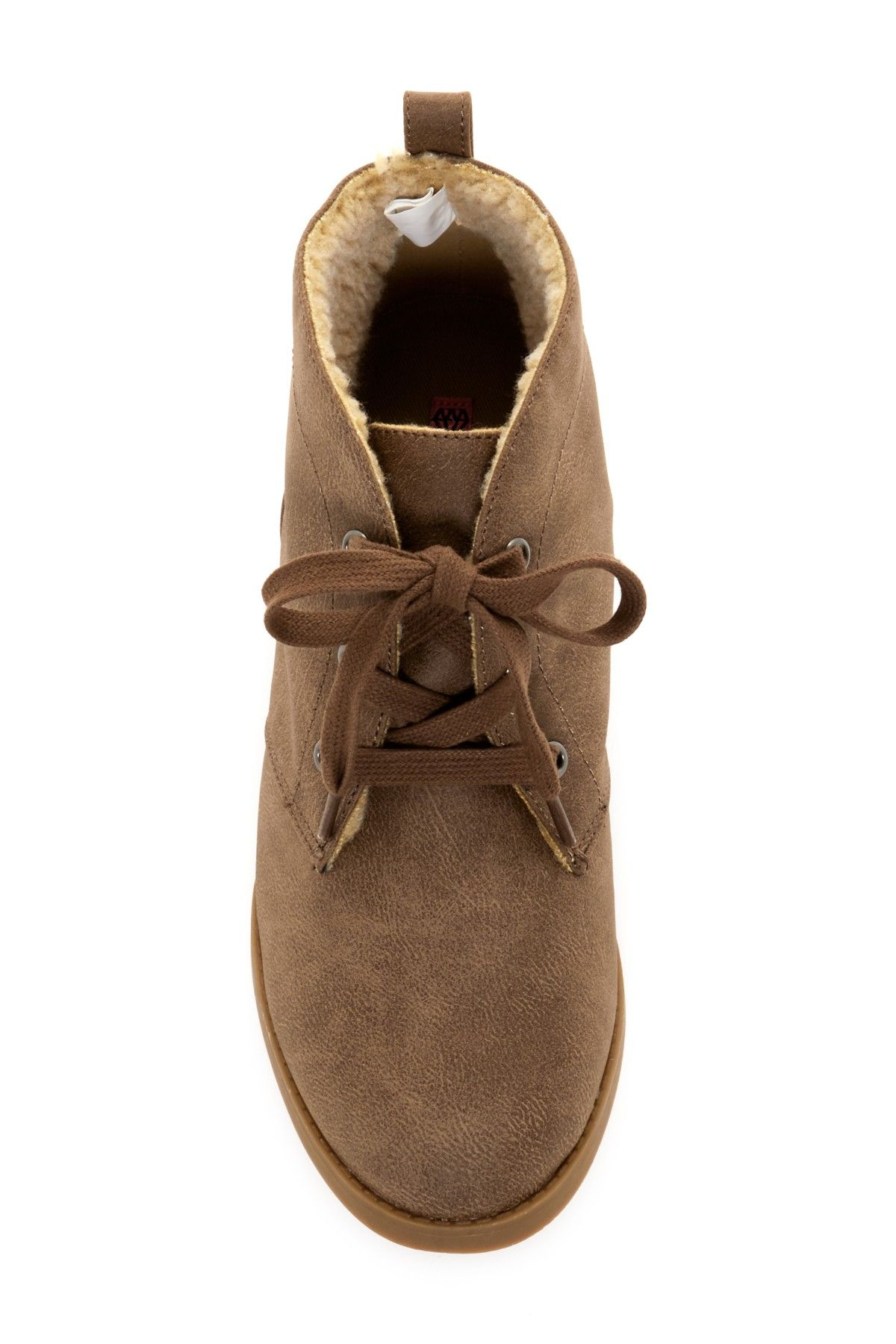 e36e69df558 Orianne Faux Fur Lined Lace-Up Oxford by Rock & Candy on @nordstrom_rack