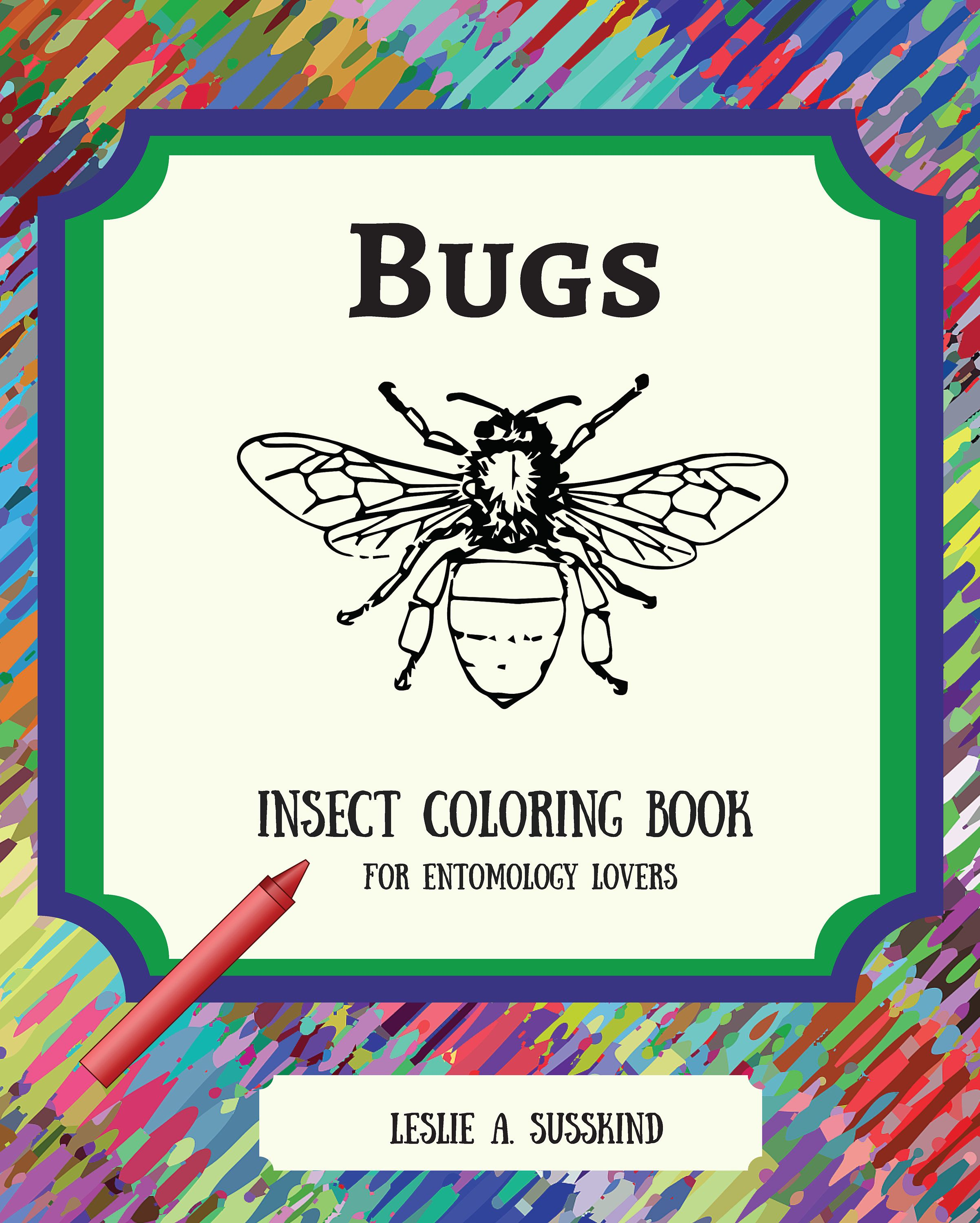 Printable Bugs Coloring Book /Adult Coloring Book ...