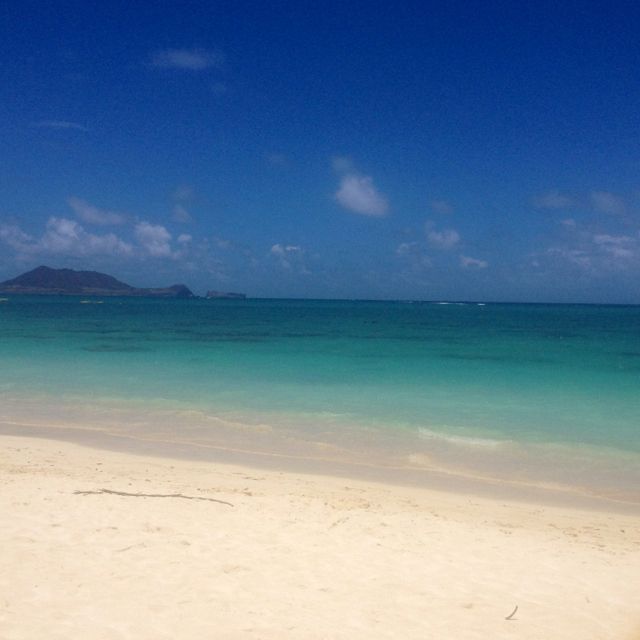 Lanikai beach Hawaii!
