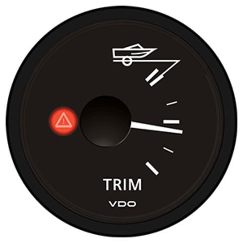 VDO Viewline Onyx Trim Gauge 12/24V - Mercury/Volvo Penta /2001+ Yamaha