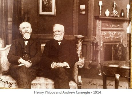 In 1872, Henry Phipps, Jr. and Andrew Carnegie co-founded ...