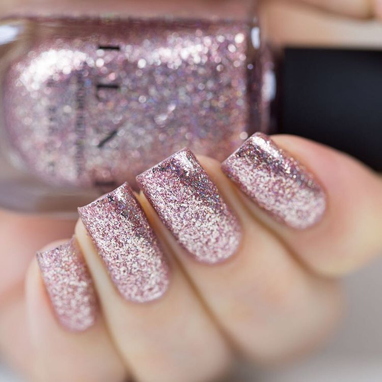Madison Ave - Antique Pink Holographic Ultra Metal