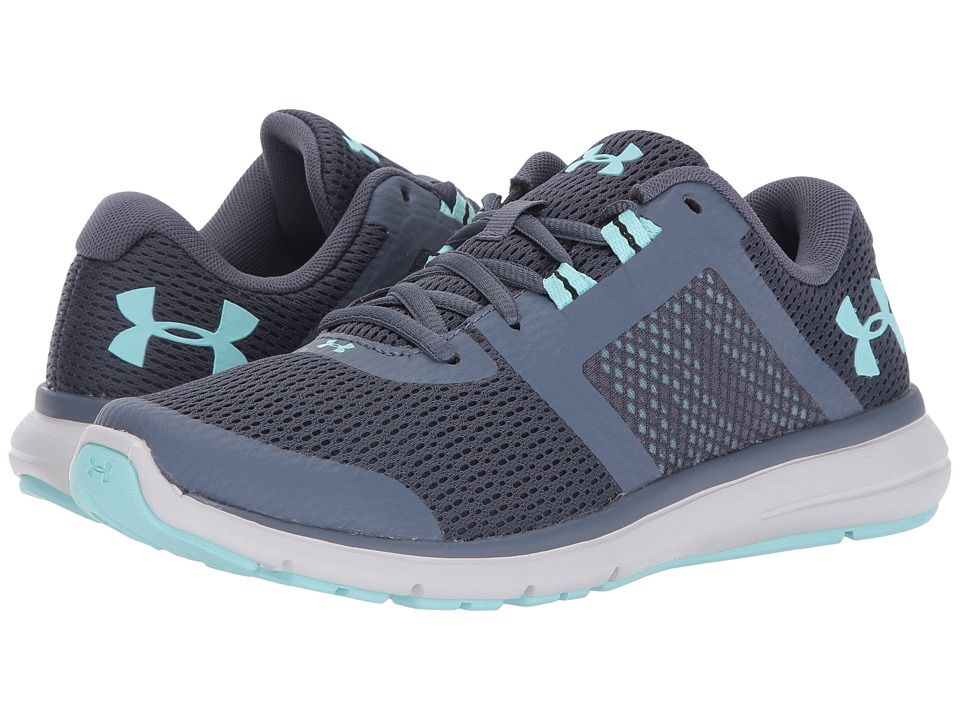Under Armour Women/'s Micro G Fuel RN Athletic Running Shoes Black//Pink//White