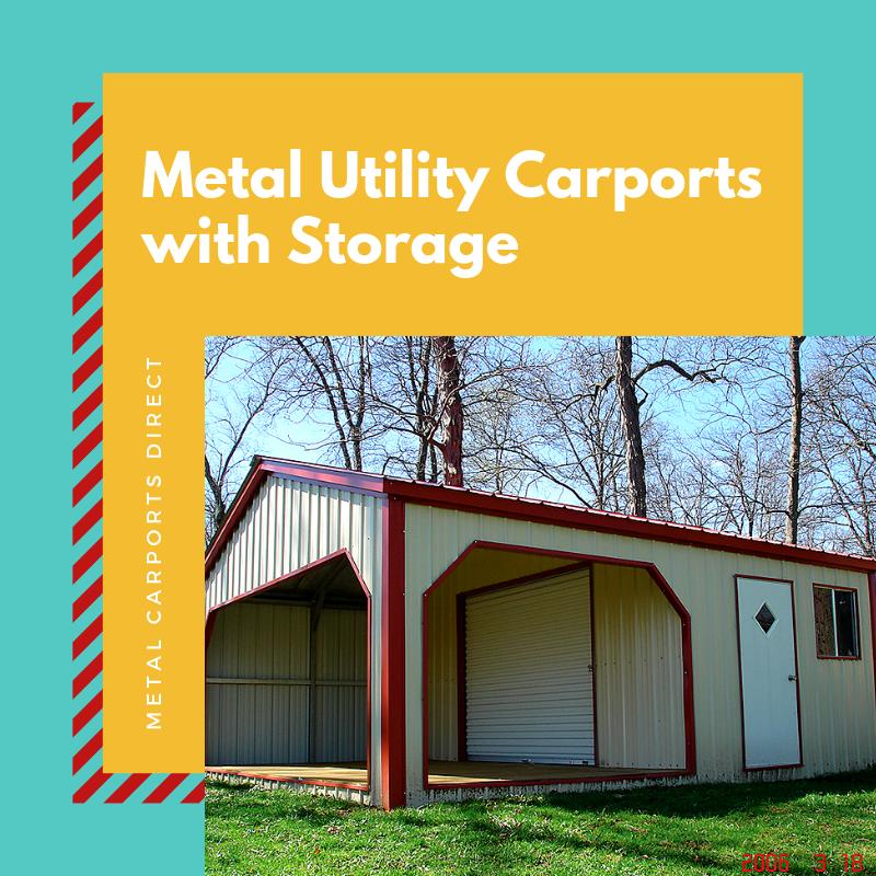 Metal Utility Carports With Storage Carport With Storage Carport Metal Carports