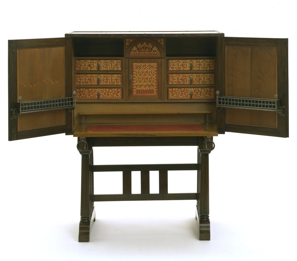 Antique arts and crafts furniture - Arts Crafts Britain 1880 1914 Victoria And Albert Museum Cabinet Charles
