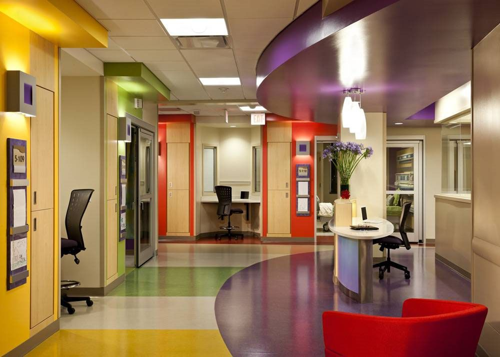 Phoenix children 39 s hospital patient centered design for Interior designer phoenix