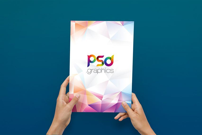 Free A4 Flyer In Hand Mockup Psd Psd Graphics Free Photoshop Mockup Psd A4 Flyer Hand Flyer And Poster Design Mockup Free Psd Free Mockup