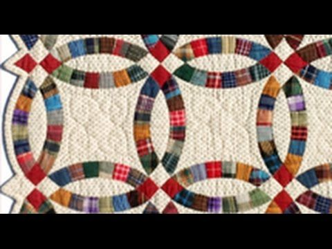 Double Wedding Ring Part 1 Quilt Video By Shar Jorgenson Youtube Quilts Book Quilt Double Wedding Ring Quilt