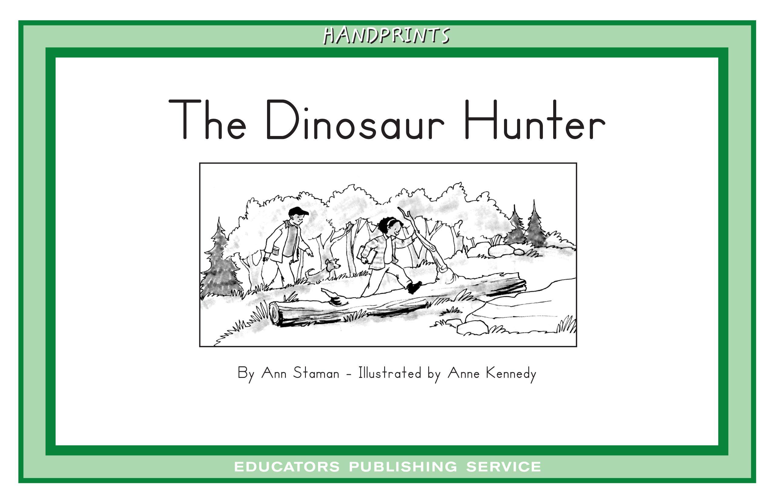 The Dinosaur Hunter Level 17 Handprints D Set 3