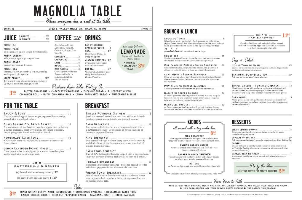Magnolia Table Chip And Joanna Gaines Magnolia Table Restaurant Magnolia Table