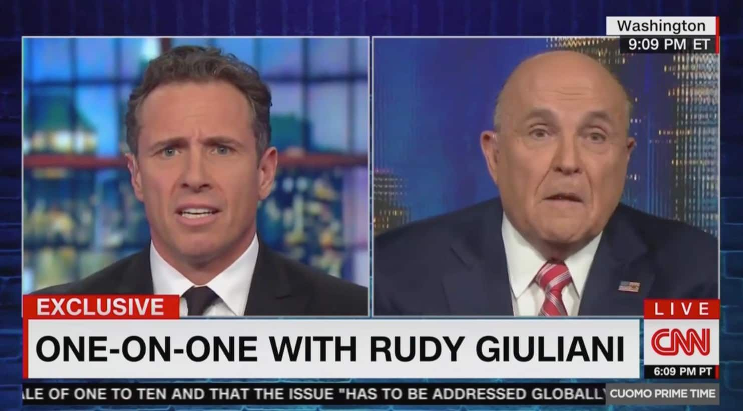 Rudy Giuliani I Never Said There Was No Collusion Between Trump Campaign And Russia Rudy Giuliani Cnn All About Time