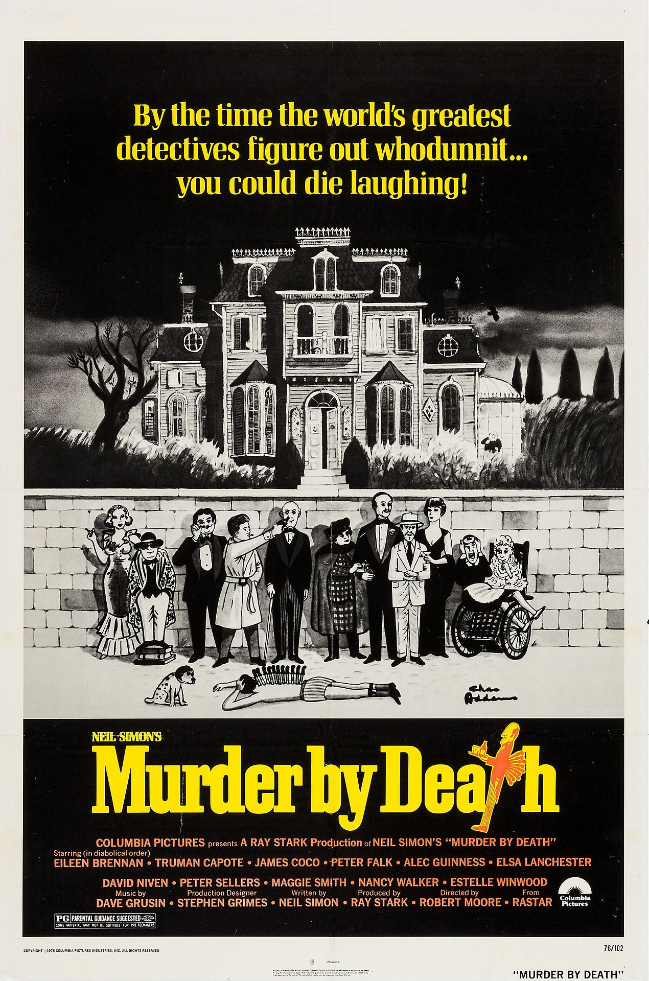 Un cadáver a los postres, 1976