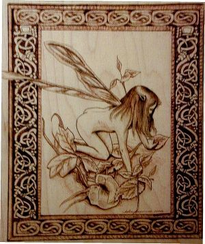 Faerie Pyrography