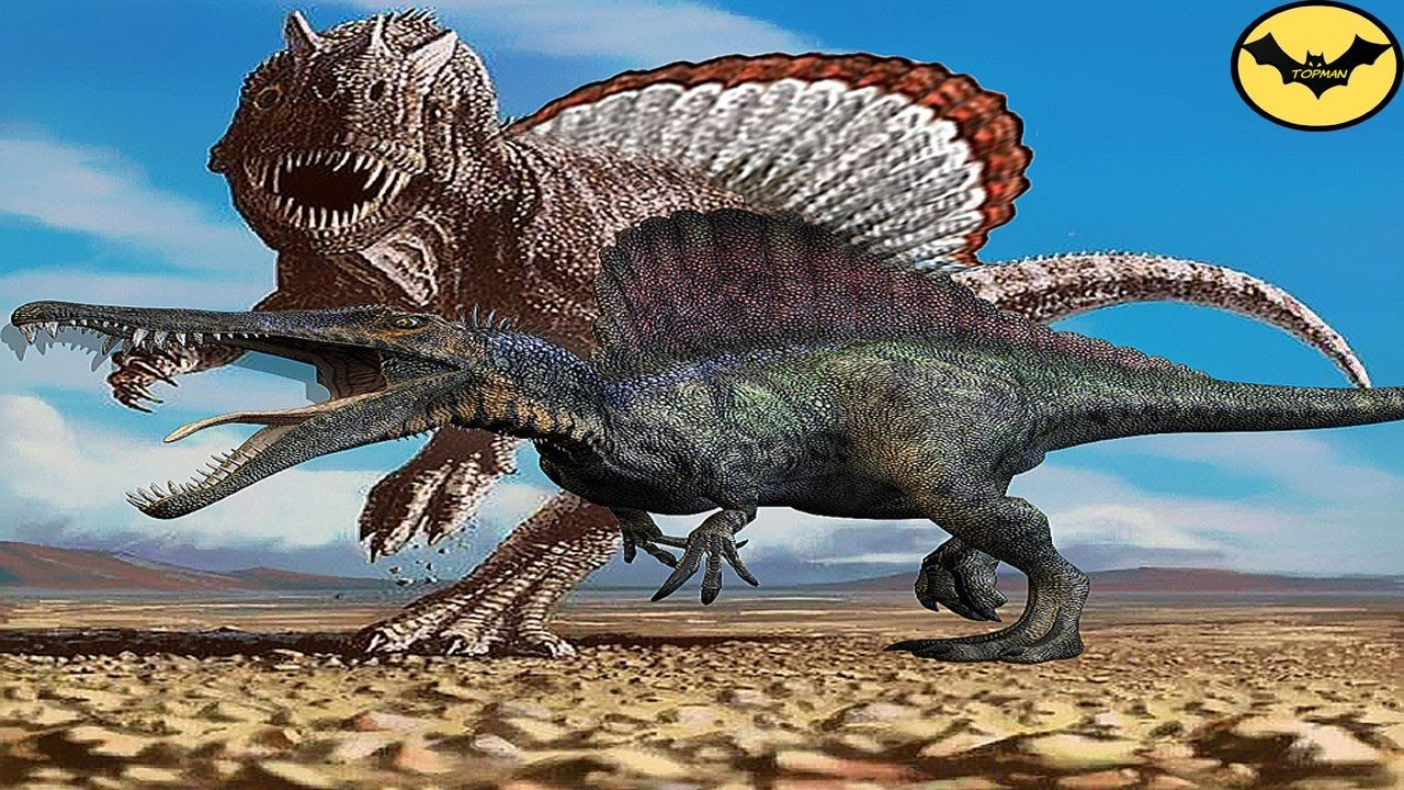 5 of the most scary spinosaurus species that ever lived on