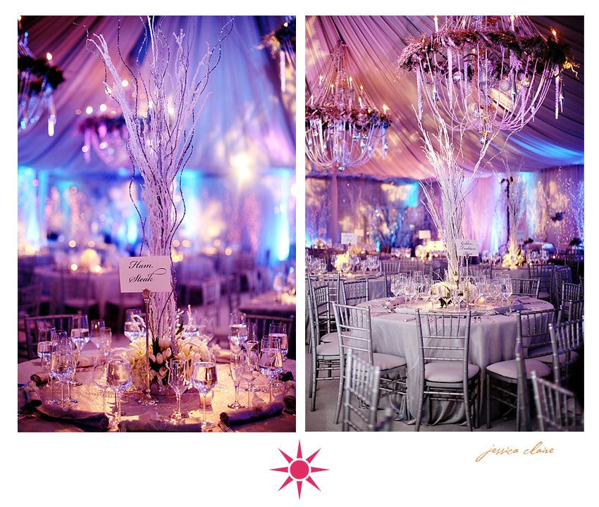 Turn Your Winter Wedding Into A Winter Wonderland With A Few Great Ideas!  When Planning