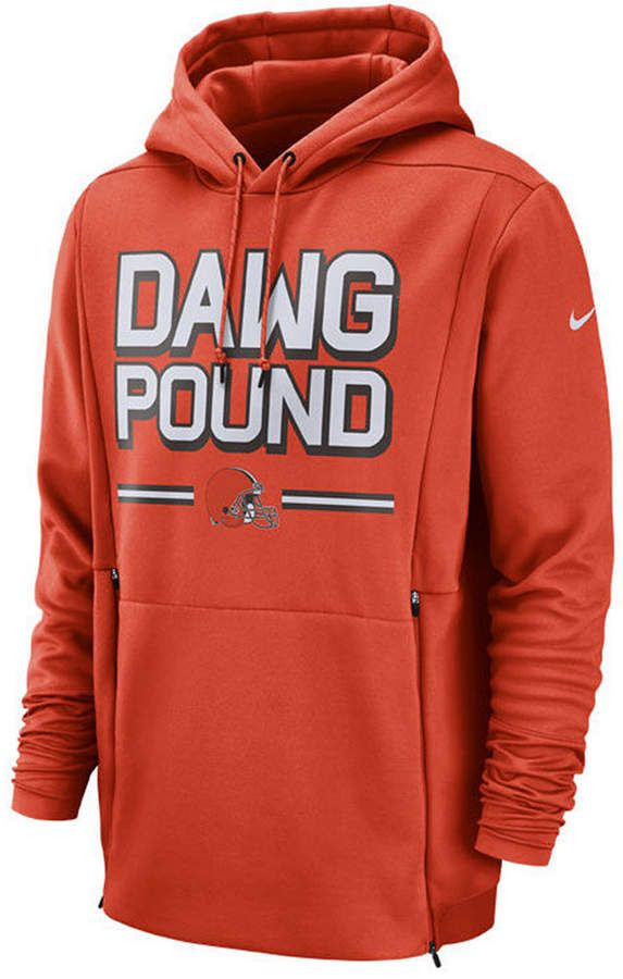 the latest d49f9 811bd Nike Men's Cleveland Browns Sideline Player Local Therma ...