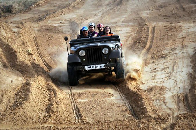 Jeep Safari Day Trip To Kanota Lake From Jaipur Thrill Excitement