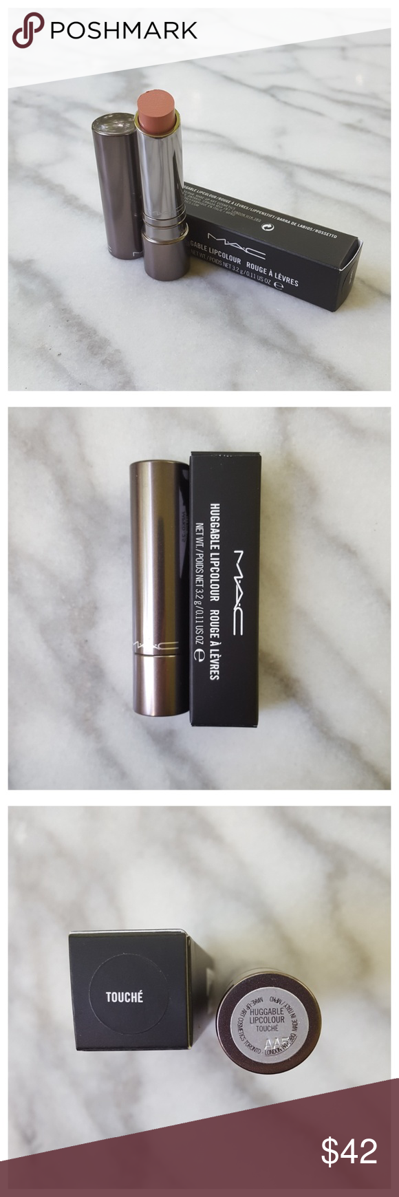 MAC Limited Edition Huggable Lip Color in Touché Limited