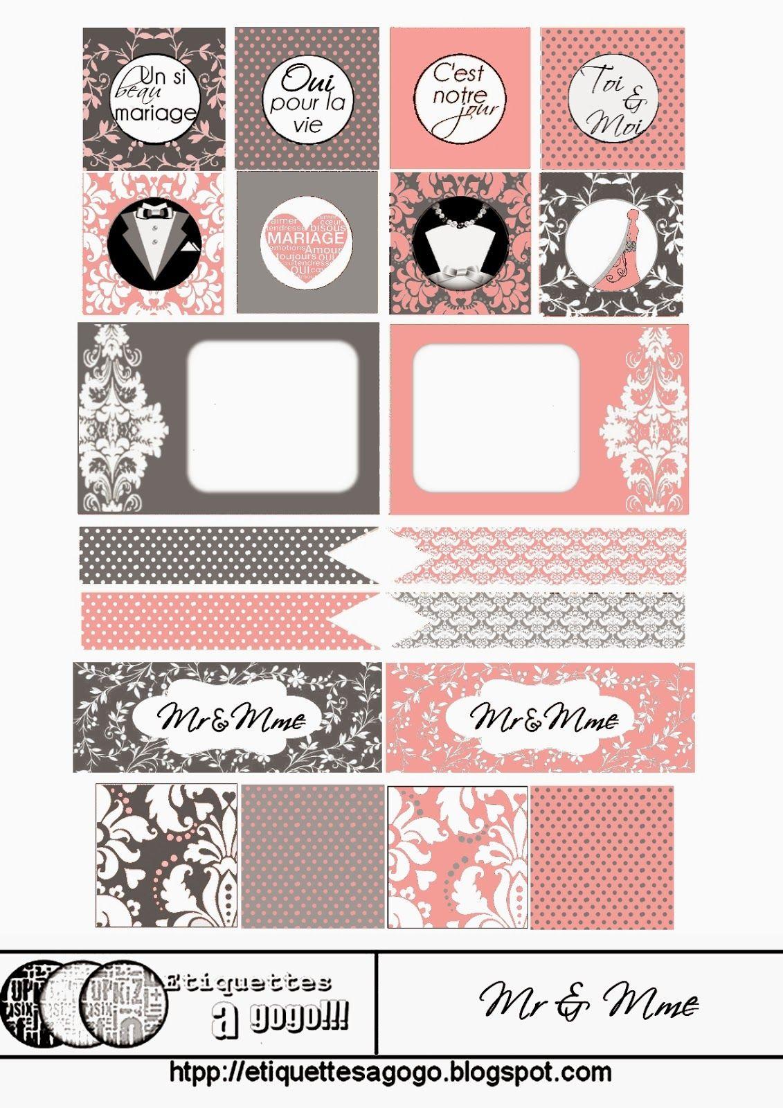 Bodas: Etiquetas de Diferentes Colores para Imprimir Gratis. | boda ...