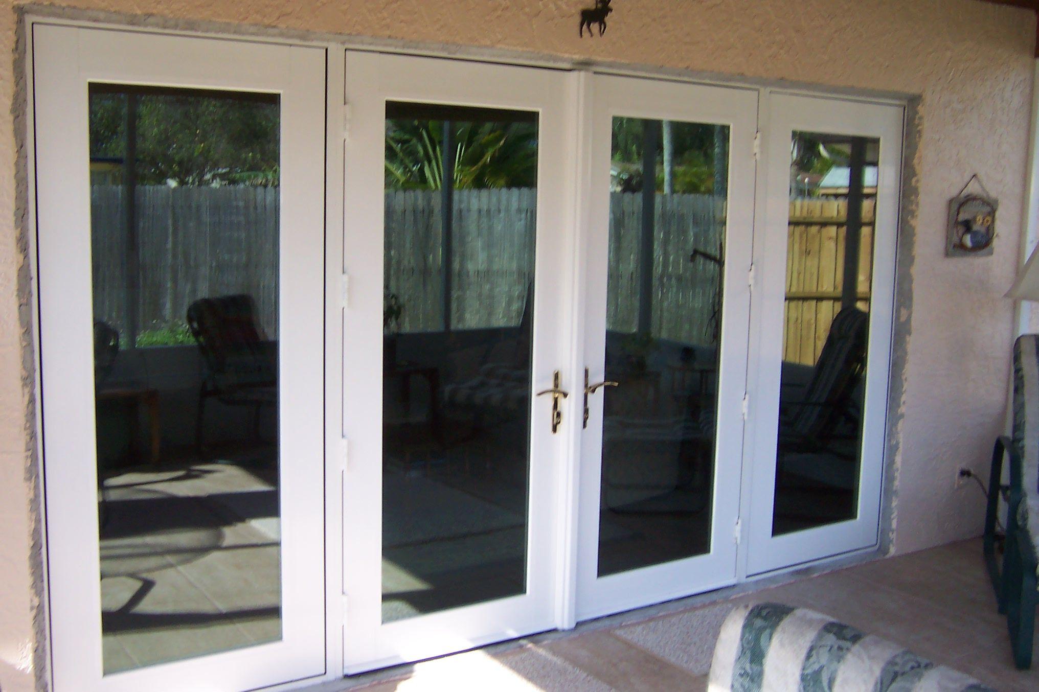 Entry Door Window Systems   Seminole Sliding Glass Door After Exterior