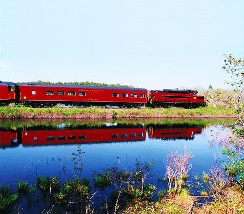 The Captivating Cape Cod Central Railroad