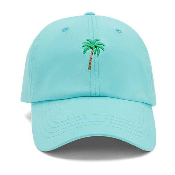 Forever21 Palm Tree Baseball Cap (29 BRL) ❤ liked on Polyvore featuring  accessories ea2b7833f91