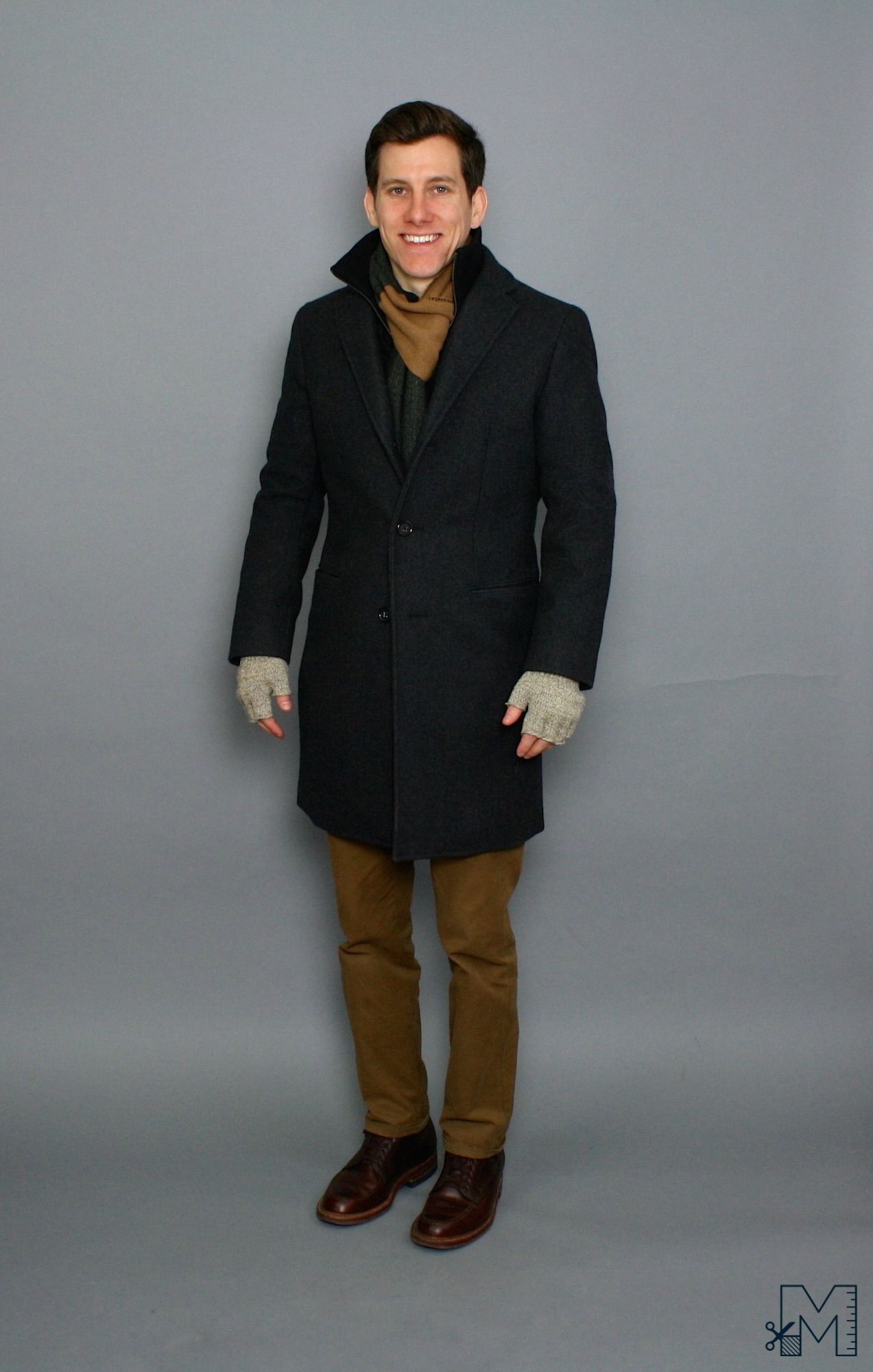 Cold weather smart casual: -Chinos (usually the BR Aiden chinos in ...