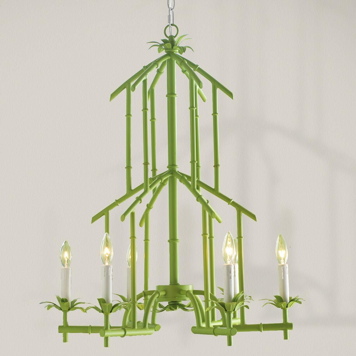 Bamboo tower chandelier 6 light chandeliers tower and bamboo design bamboo tower chandelier 6 light arubaitofo Images