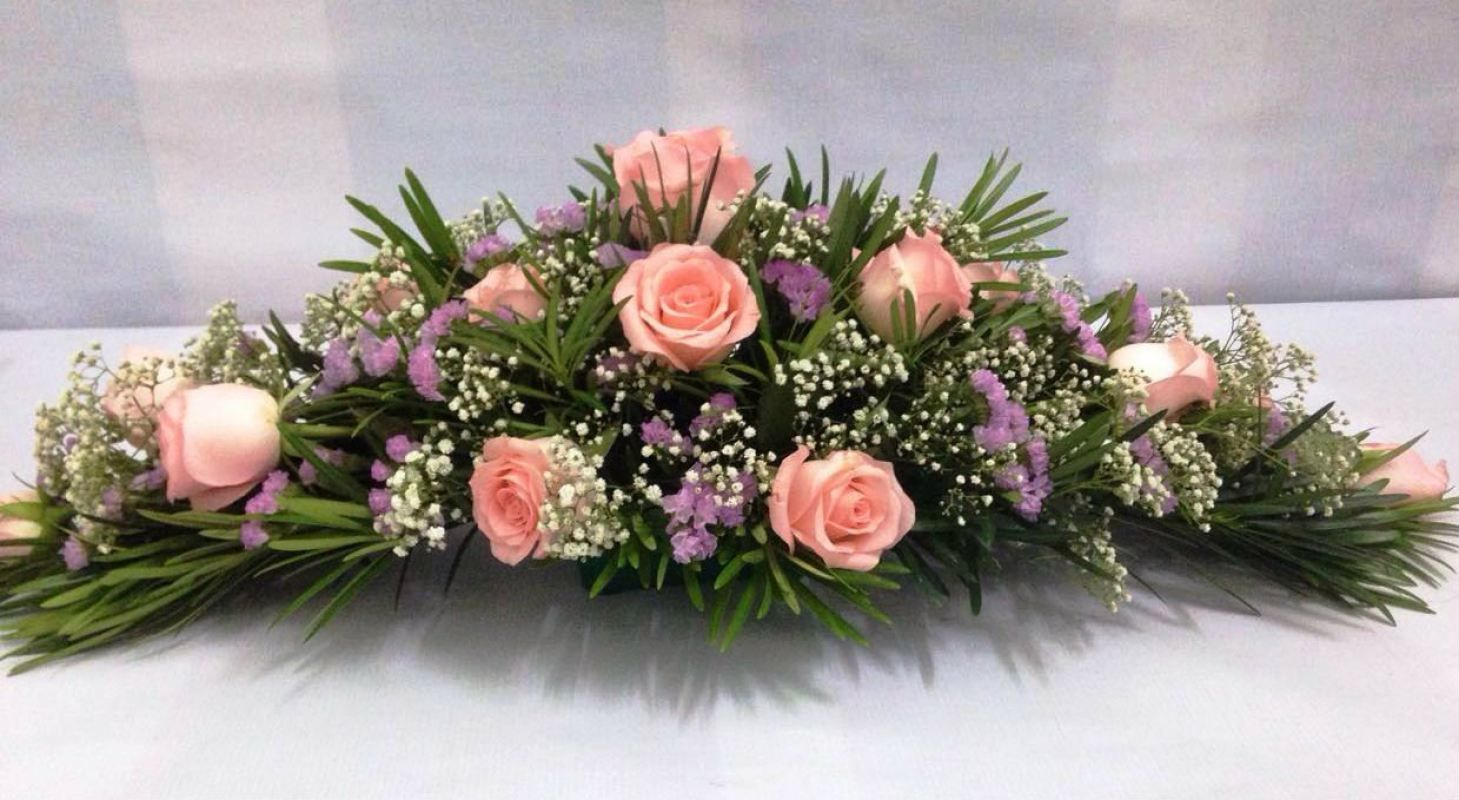 Image Result For Long And Low Flower Arrangement Creative Flower