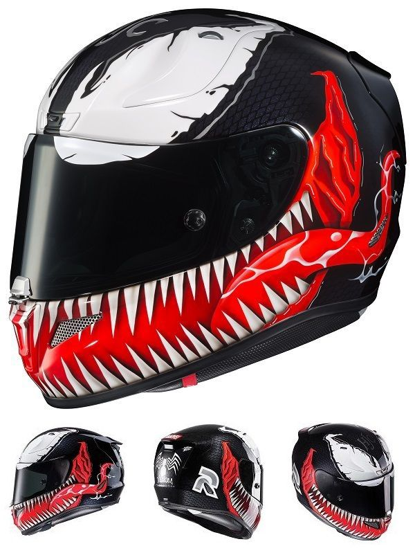 marvel venom motorcycle helmet geek stuff pinterest marvel venom motorcycle helmet and venom. Black Bedroom Furniture Sets. Home Design Ideas