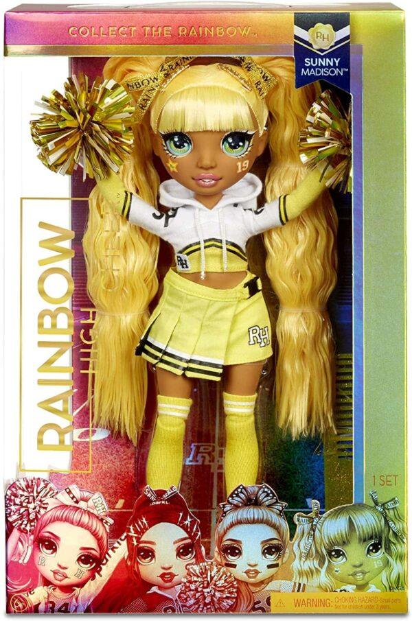 Rainbow High Cheerleader Dolls Lolsdolls Beautiful Dolls Rainbow Dolls