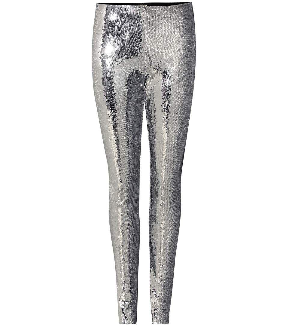ISABEL MARANT Izard Embellished Leggings. #isabelmarant #cloth #trousers · Silver  LeggingsSequin ...