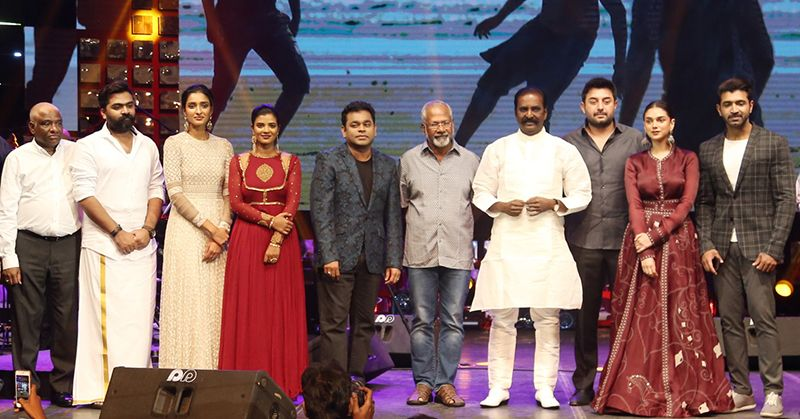 AR Rahman At Chekka Chivantha Vaanam Movie Audio Launch