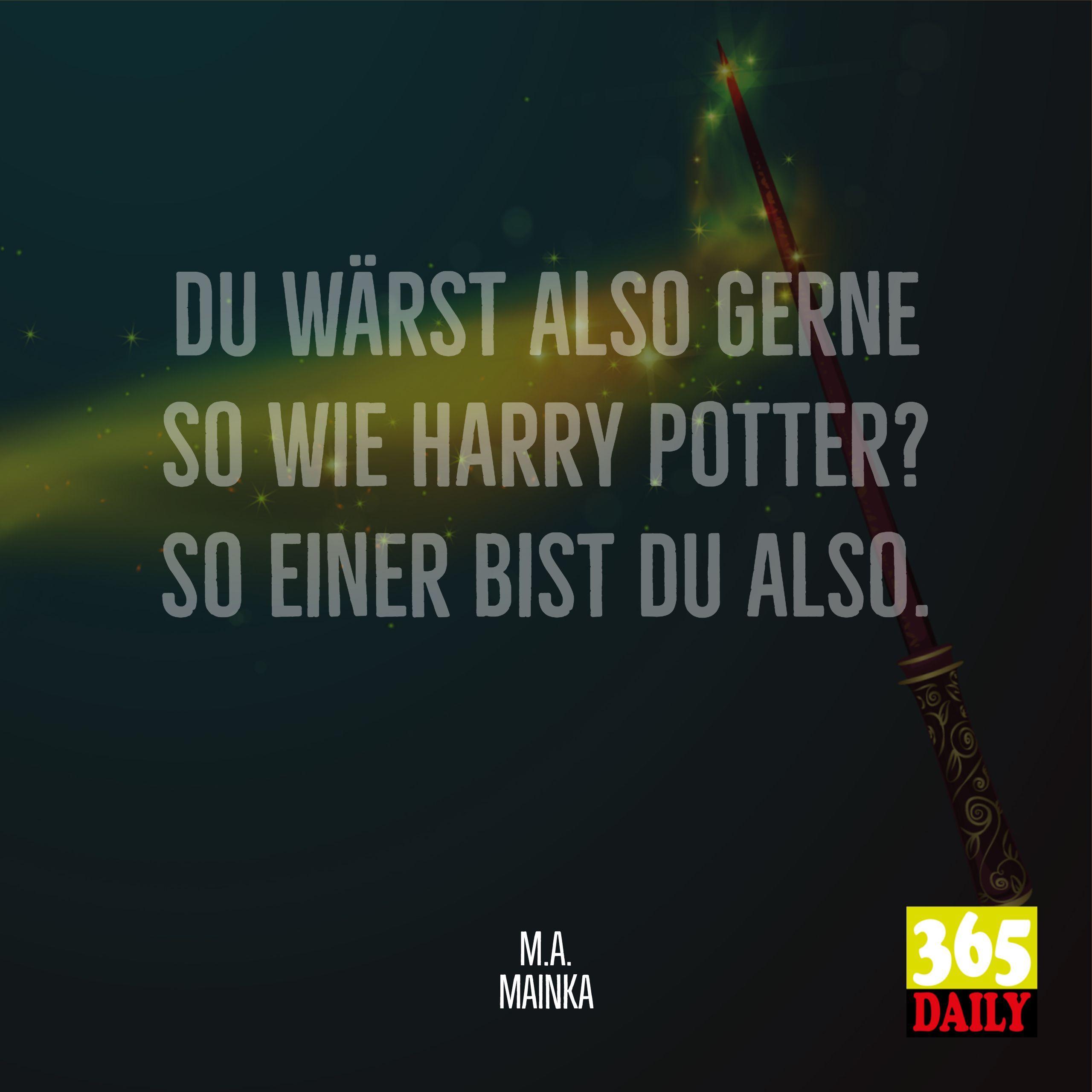 Muggel Oder Zauberer Das Ist Hier Die Frage Fee Einhorn Harry Potter Harrypotter 365 Daily Visualstatements Spruch Weishe Magier Fragen Einhorn