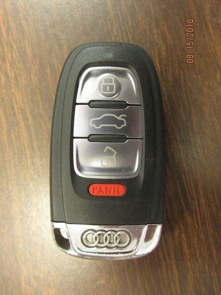 09 16 Audi S4 B8 4 Button Key Key Fob W Comfort Access Oem 8t0 959 754 Ad S1 Audi Audi Audi A4 Key Fob
